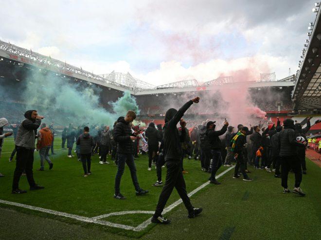 Massive Fan-Proteste im Old Trafford