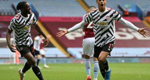 Manchester United bezwingt Aston Villa 3:1