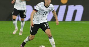 Florian Neuhaus überzeugte im Spiel gegen Dänemark