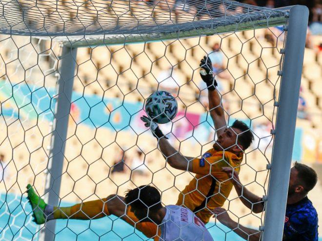 Dubravka leistete sich gegen Spanien einen Fauxpas