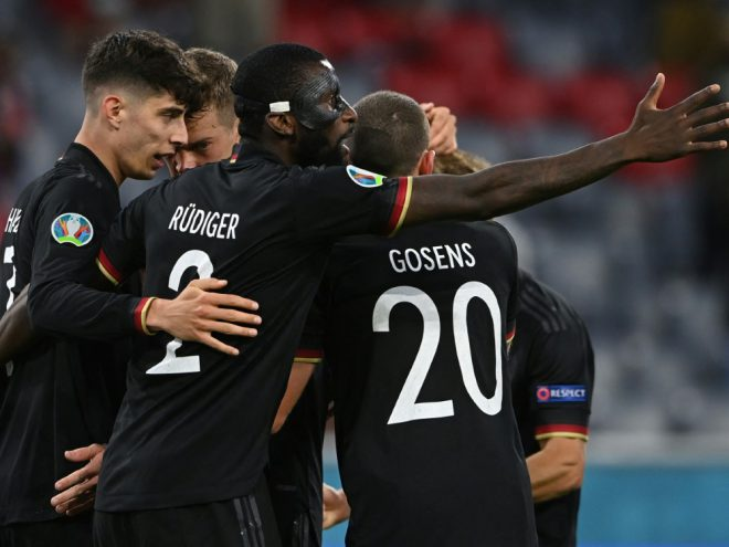 Fußball-Fans glauben an Achtelfinalsieg des DFB-Teams