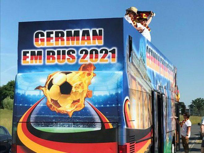 """""""German EM Bus 2021"""" stört deutsche Vorbereitung"""