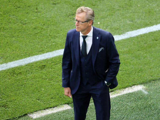 Finnlands Nationaltrainer Markku Kanerva