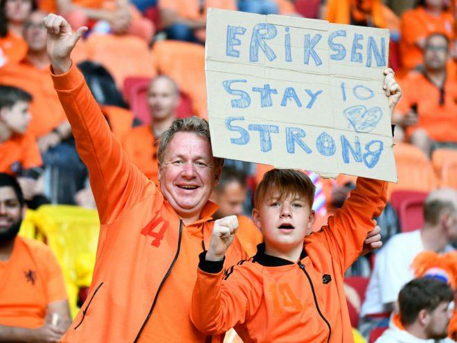 Eriksen ist bewegt von der Unterstützung aus aller Welt