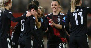 Bayern-Frauen feiern die Meisterschaft