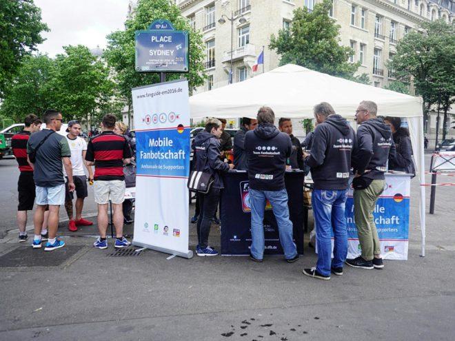 Die KOS ist bei der EM mit mobiler Fanbotschaft vor Ort