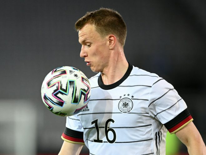Lukas Klostermann  konnte nicht am Training teilnehmen