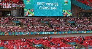 Große Anteilnahme am Schicksal von Christian Eriksen