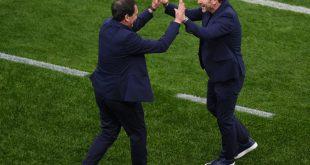 Franco Foda (r.) und sein Team haben was zu feiern