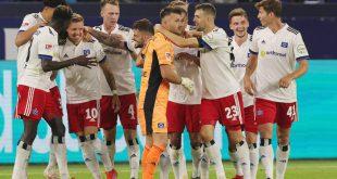 Der HSV geht gegen Dresden als Favorit ins Spiel