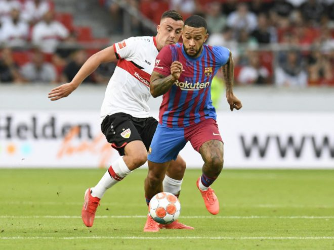 Der VfB verliert gegen den FC Barcelona mit 0:3