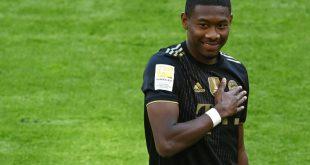 Alaba wird bei Real Madrid die Nummer 4 tragen