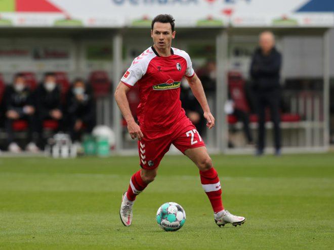 Nicolas Höfler trifft per Elfmeter für den SC Freiburg