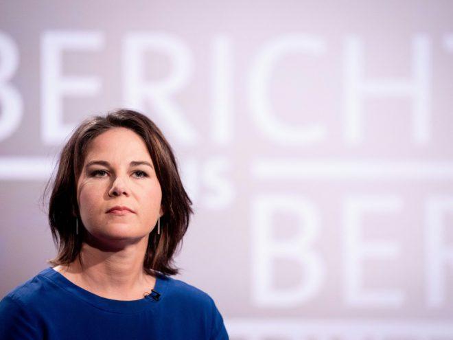 Spricht sich für WM-Absage aus: Annalena Baerbock