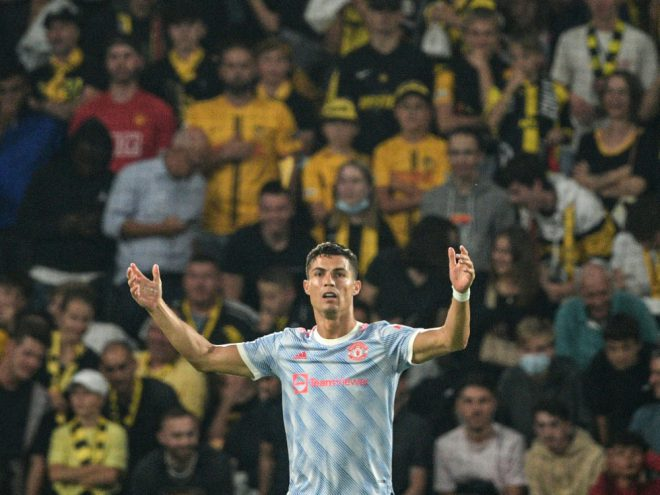 Trotz Rekordtor: Ronaldo und ManU verlieren in Bern