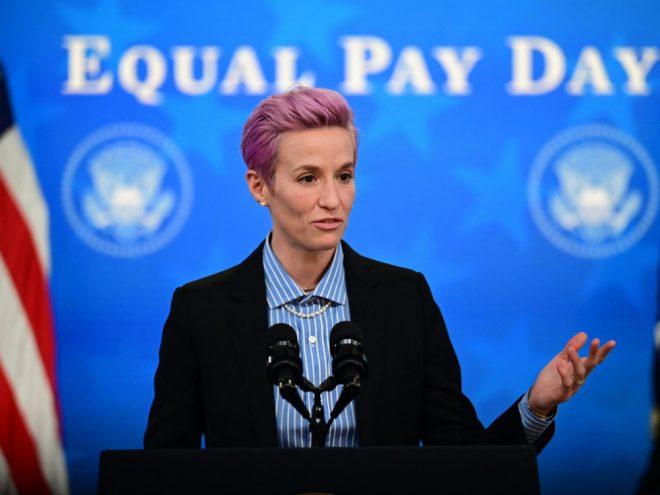 US-Frauenteam um Rapinoe soll gleich bezahlt werden