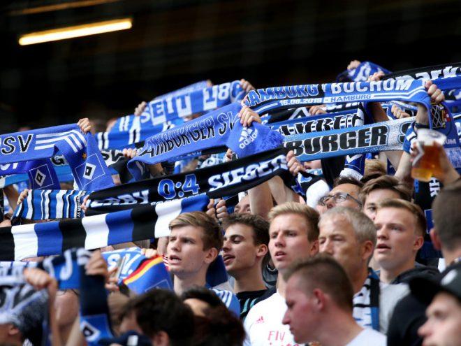 Der Hamburger SV hebt die Maskenpflicht im Stadion auf