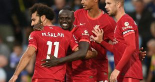 Schon sein dritter Saisontreffer: Mohamed Salah