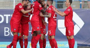 Hertha BSC erkämpft sich einen knappen Sieg gegen Fürth