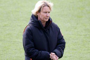 Voss-Tecklenburg ist vor Start der WM-Quali unzufrieden