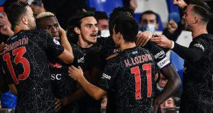Neapel bleibt in Italien an der Tabellenspitze
