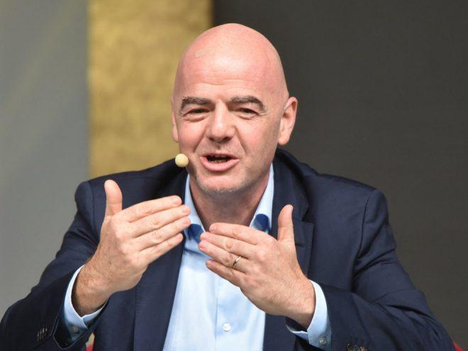 FIFA-Chef Gianni Infantino