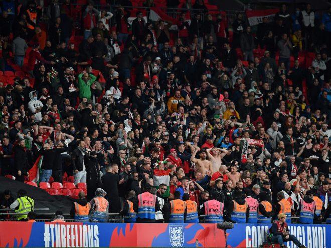 Beim Länderspiel in Wembley kam es zu Ausschreitungen