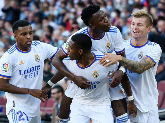 David Alaba erzielte das 1:0 für Real Madrid