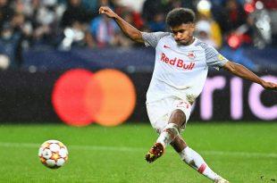 Karim Adeyemi spielt noch bei Salzburg