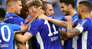 Schalke gewinnt gegen Dresden mit 3:0